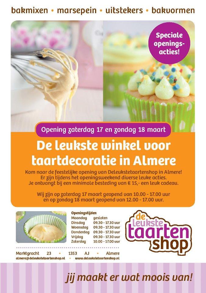 De leukste taartenshop – nu ook in Almere