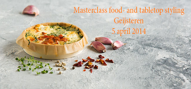Masterclass food- en tabletopstyling